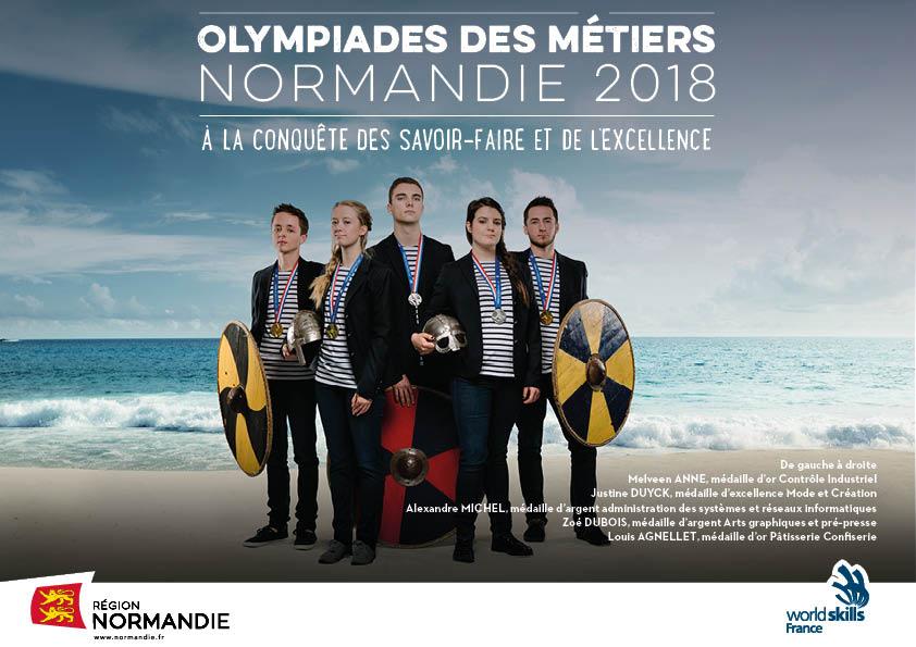 Olympiades des Métiers: 2 médailles